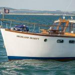 Highland Beauty at sea