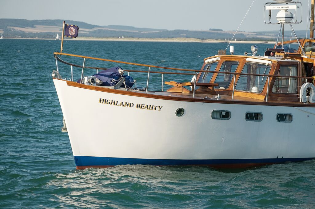 Highland Beauty at sea