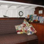 Penny Jane, Port side book shelf