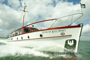 Star of Killarney at sea