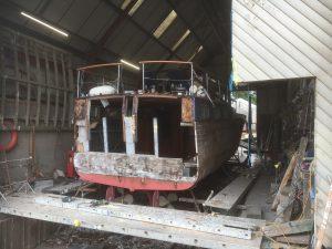Snapdragon at Michael Dennett Boatbuilders